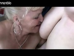 Old granny and bbw granny have fun..