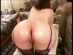 Vintage big butt chubby massage..