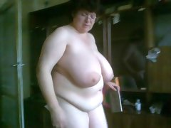 Bbw vanya clean naked 2