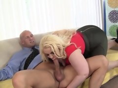 Platinum blonde bbw klaudia kelly..