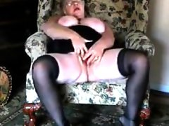 Large grandma orgasms