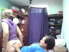 Chubby chick fucks her cute girlfriend..