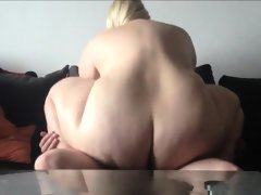 Sbbw with huge tits fucked by a horny..