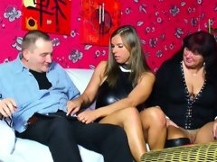 German mom and dad seduce young girl..