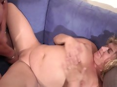 German bbw mother and dad in first..