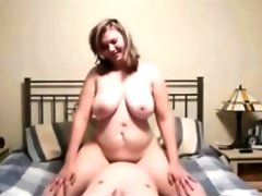 Teen bbw loves being on top riding cock